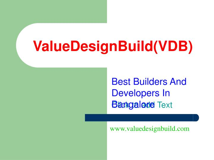 best builders and developers in bangalore n.