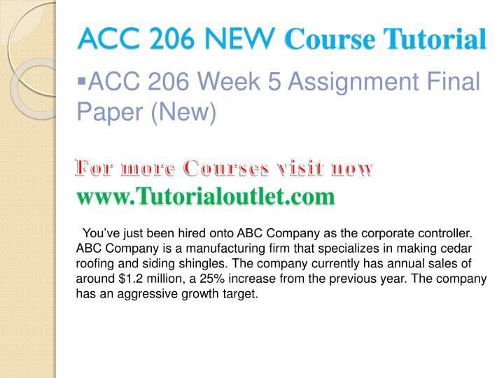 acc 206 Acc 206 week 5 dq 2 responsibilities in management accounting.