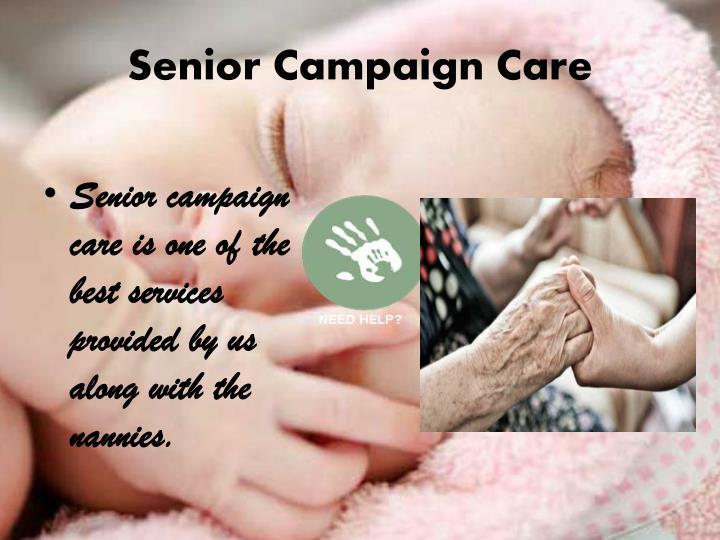 Senior Campaign Care