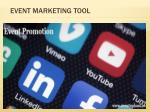 event marketing tool
