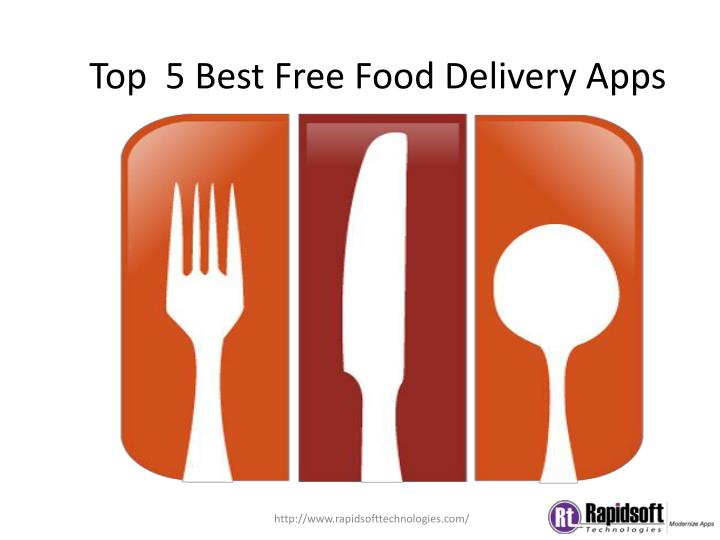 top 5 best free food delivery apps n.