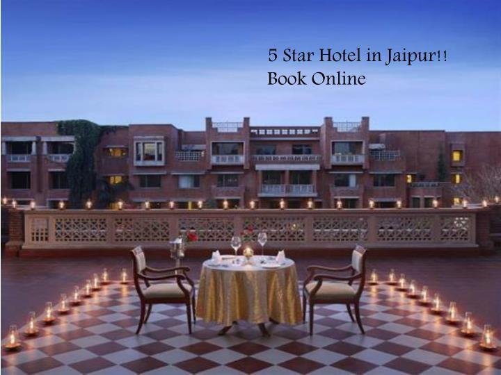 5 Star Hotel in