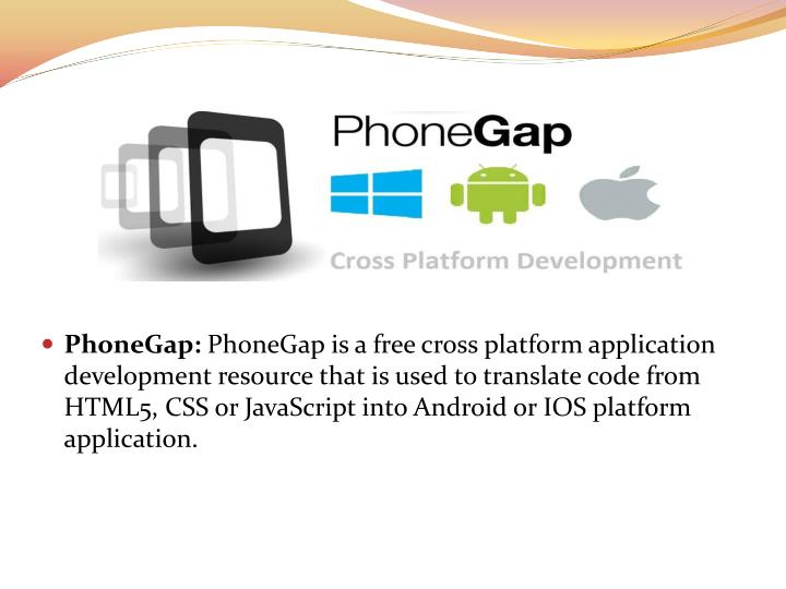 PhoneGap: