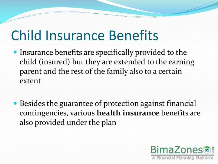 Child insurance benefits