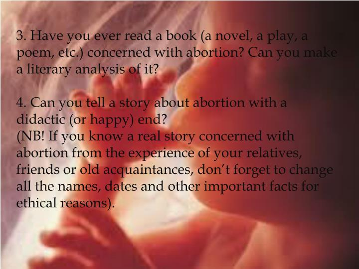 abortion notecards essay Abortion should continue to be a legalised surgical procedure after much discussion abortion has finally become legalised in most countries, but was it the right choice to make.