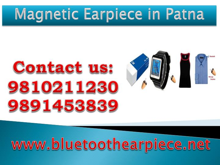 Magnetic Earpiece in Patna