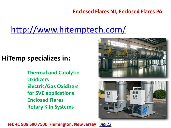 Enclosed Flares NJ, Enclosed Flares PA