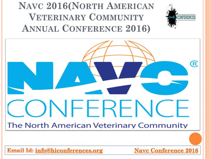 navc 2016 north american veterinary community annual conference 2016 n.