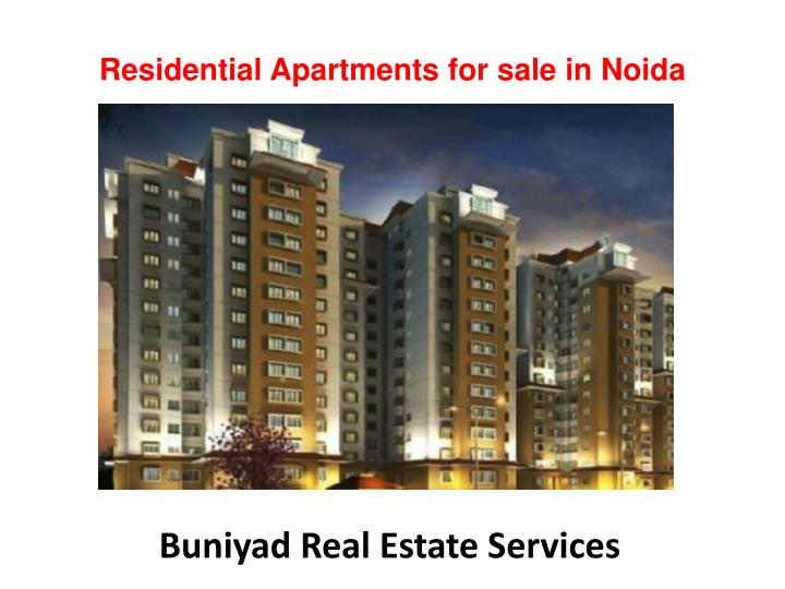 residential apartments for sale in n oida n.