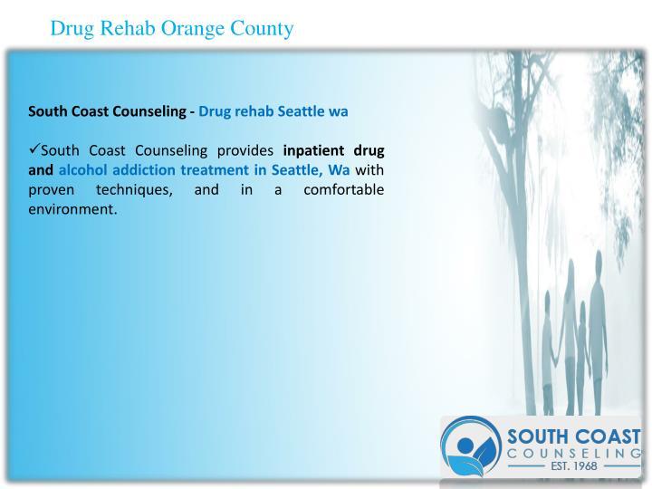 Drug Rehab Orange County