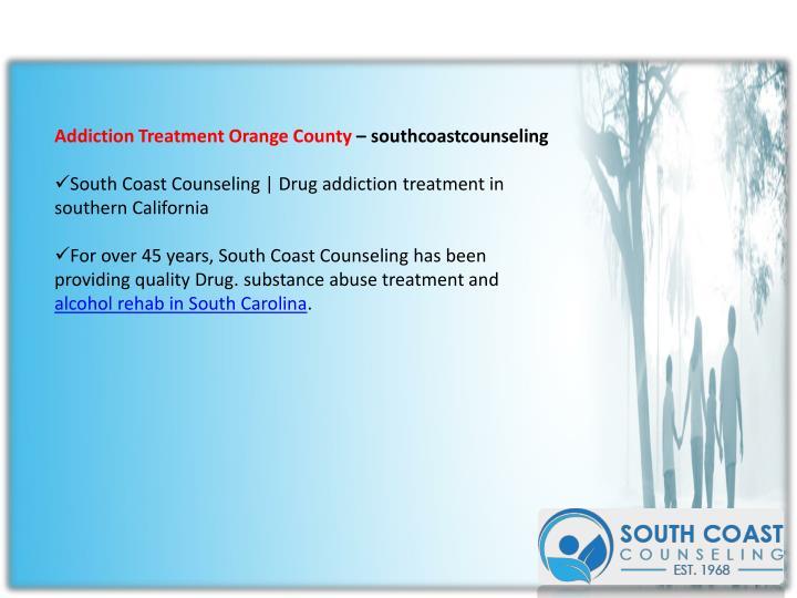 Addiction Treatment Orange County