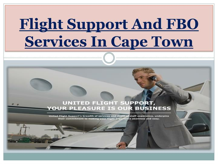flight support and fbo services in cape town n.