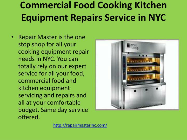 commercial food cooking kitchen equipment repairs service in nyc n.