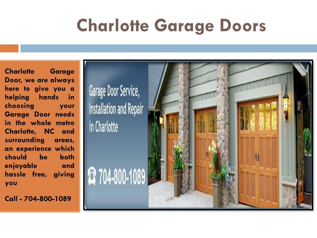 Ppt Garage Door Repair Charlotte Nc Openers