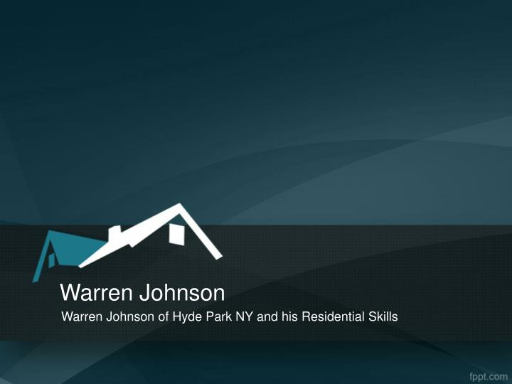 warren johnson n.