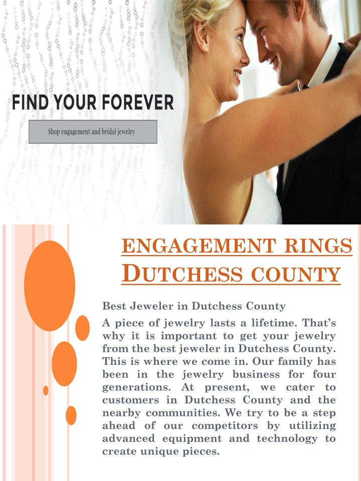 engagement rings dutchess county n.