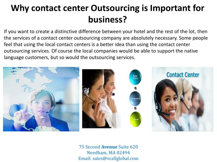 why contact center outsourcing is important for business n.