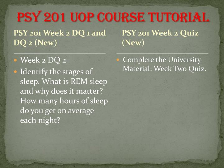 psy 201 quiz Psy201 – general psychology topic outline for quiz #4 chapter 4: development through the lifespan i developmental psychology (3 major issues.