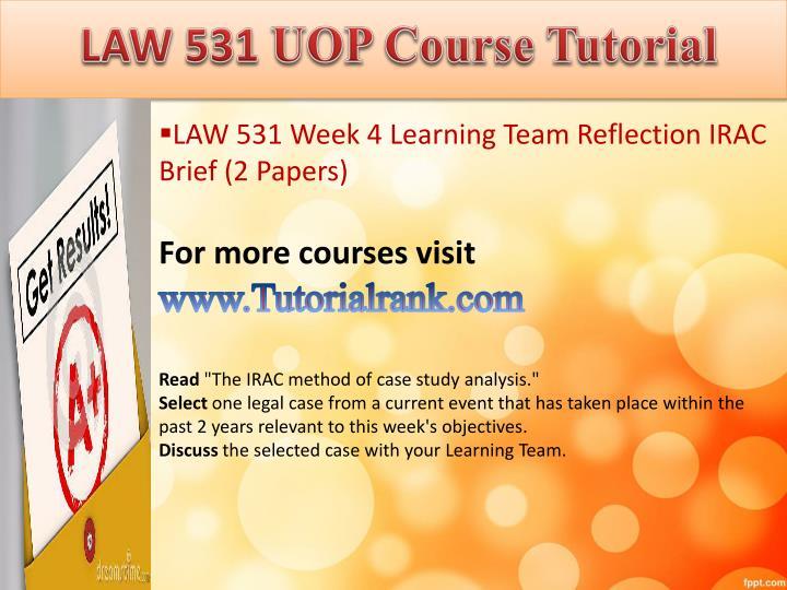 ldr 531 uop organizational leadership week