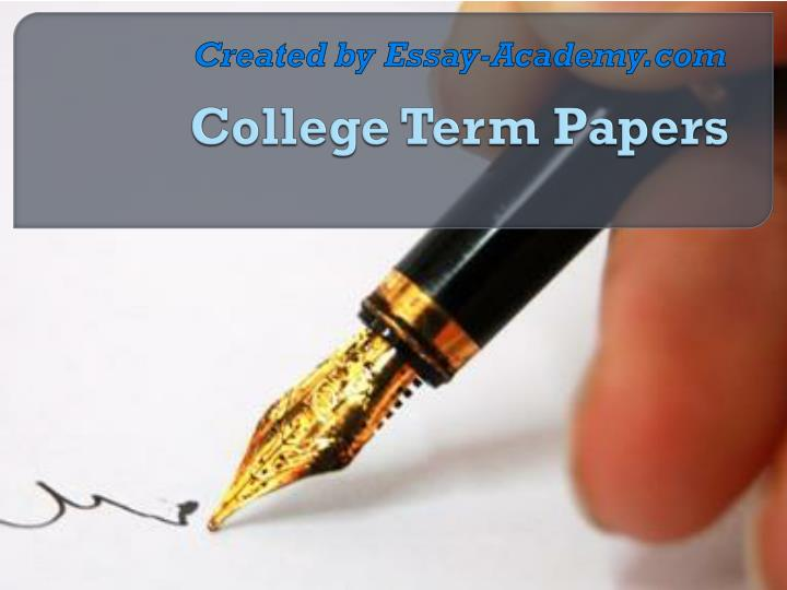 college term papers com Reliable papers - reliable custom writing services from the experts.