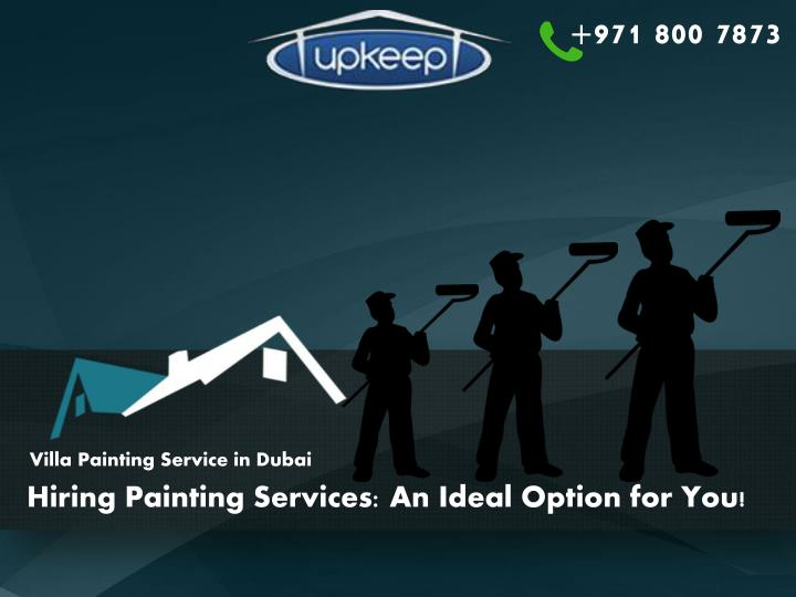hiring painting services an ideal option for you n.