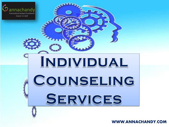 individual counseling services n.