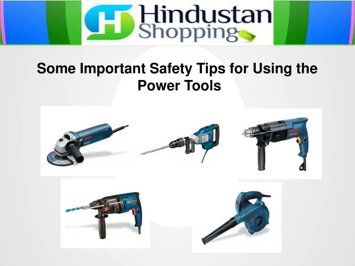 Some Important Safety Tips for Using the