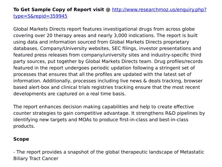 To Get Sample Copy of Report visit @
