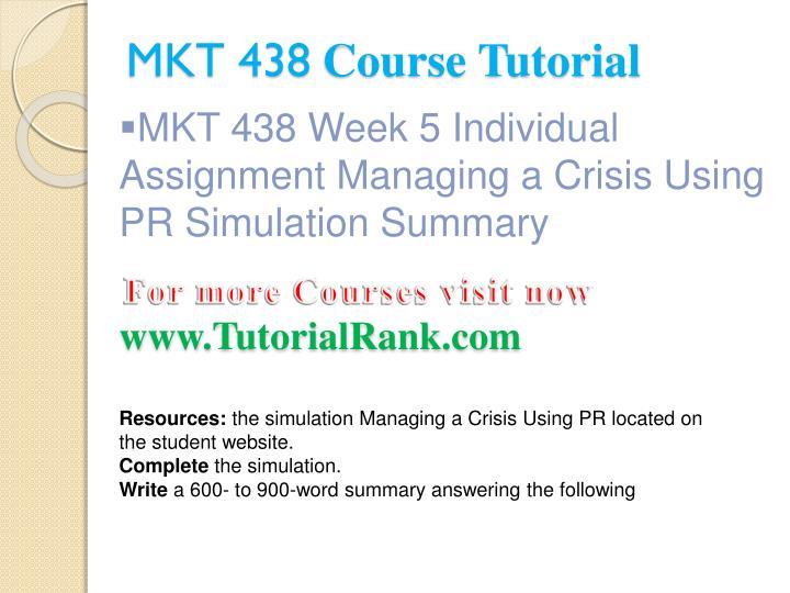 managing a crisis using pr simulation summary