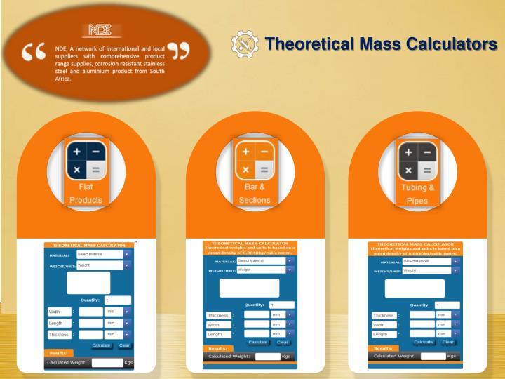 Theoretical Mass Calculators