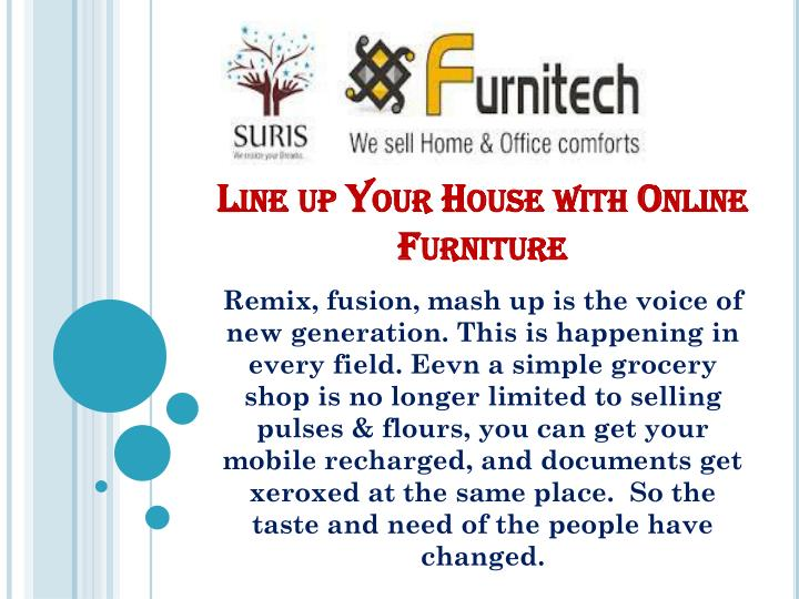 line up your house with online furniture n.