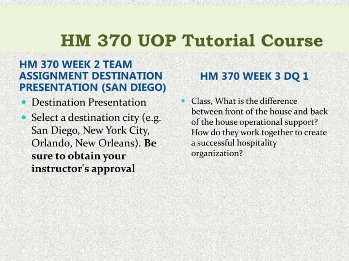 hm 370 Download presentation powerpoint slideshow about ' hm 370 uop course tutorial / tutorialoutlet' - junifer66 an image/link below is provided (as is) to download presentation.