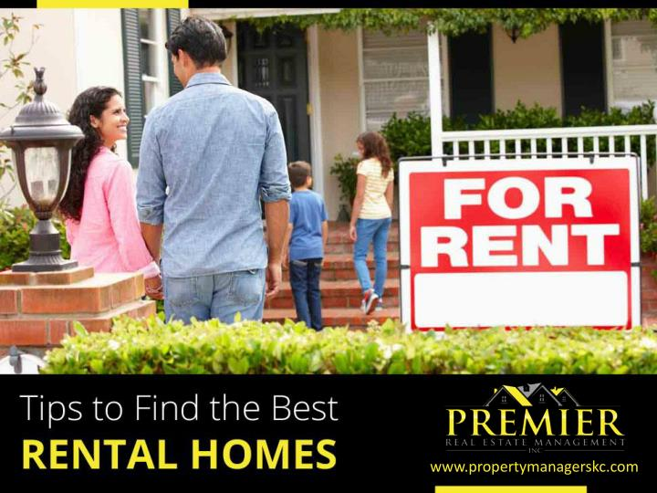 tips to find the best rental homes n.