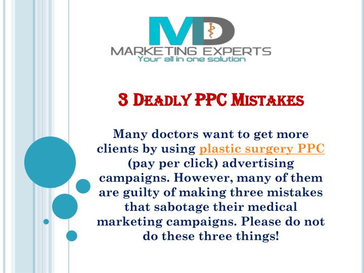 3 deadly ppc mistakes n.