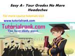 easy a your grades no more headaches