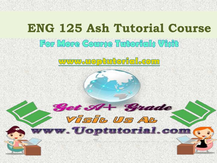 eng 125 ash tutorial course n.