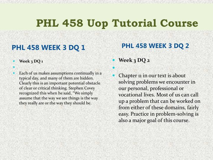 phl 458 week 4 discussion questions We checked phl458week2discuss io nquest ns4edu pen for scam and fraud our comprehensive phl458week2discussionquestions4-edupenio review will show you if phl458week2discussionquestions4-edupen is legit and whether it is safe.