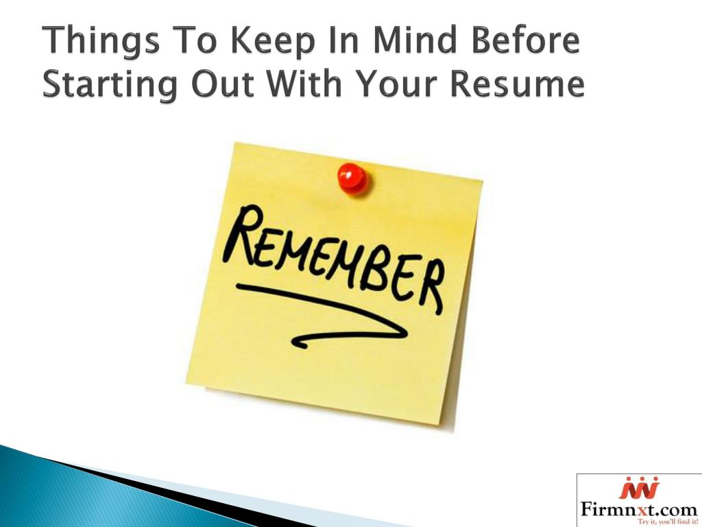 ppt - how to write a impressive resume for freshers powerpoint presentation