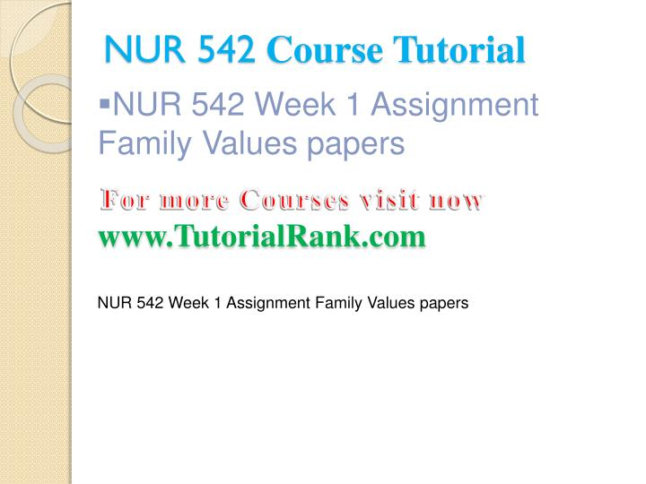 nur542 family values Family essays and research papers | examplesessaytodaybiz  family values and interaction has changed through time family values and  nur542 family values.