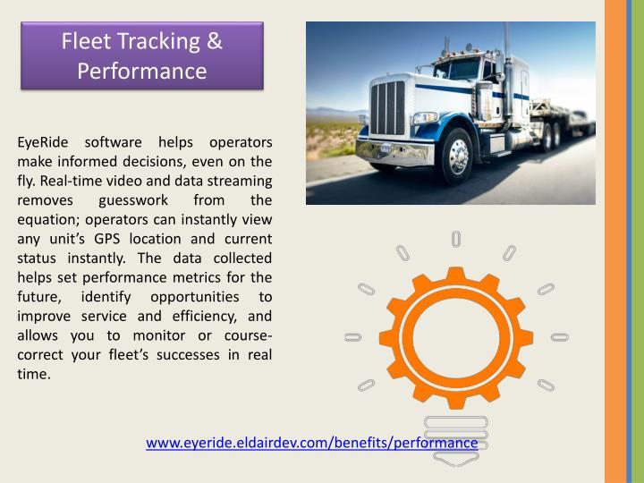 Fleet Tracking & Performance