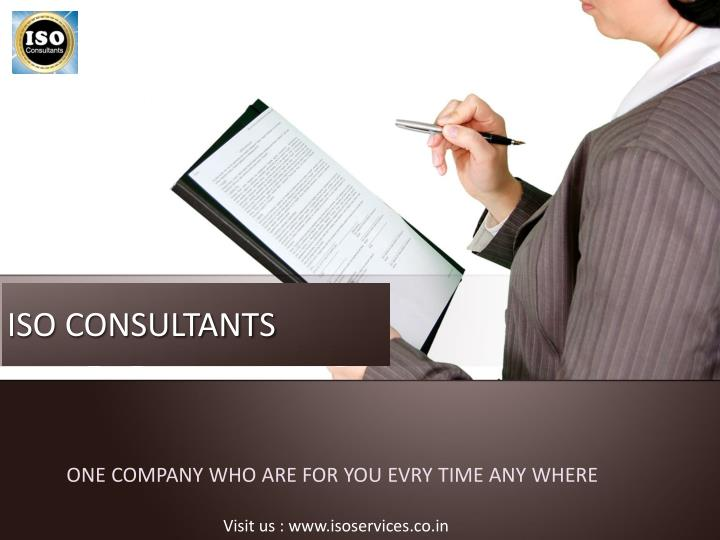 iso consultants n.