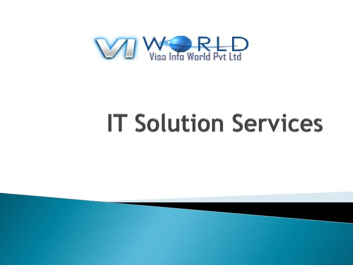 it solution services n.
