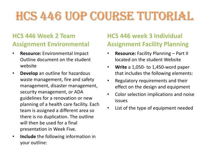 hcs 446 week 1 individual