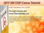 qnt 565 uop course tutorial21