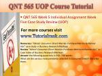 qnt 565 uop course tutorial23