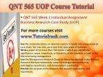 qnt 565 uop course tutorial3