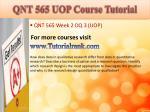 qnt 565 uop course tutorial6