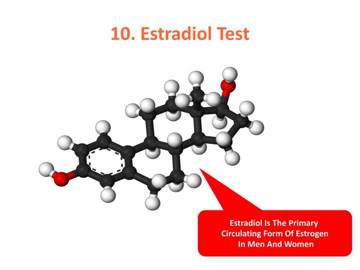 10. Estradiol Test