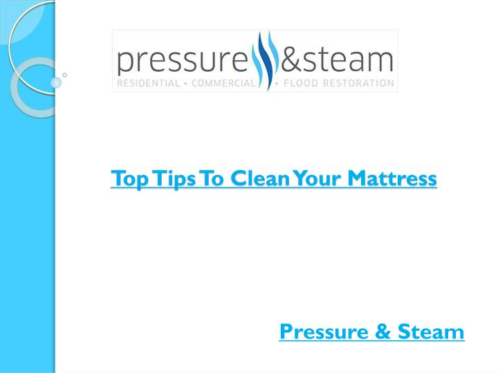 top tips to clean your mattress n.