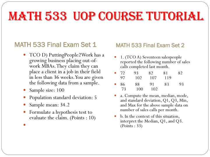 part b course project math 533 Math533 - course project - part b main similar questions project part b is worth 100 total points see grading rubric below submission: the report from part 3 + all of the relevant work done in the hypothesis testing (including minitab) in 1, and the confidence intervals (minitab) in 2 as an.